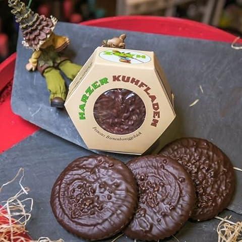 Harzer Kuhfladen | Lebkuchen mit Bienenhonig und Schokolade | leckeres