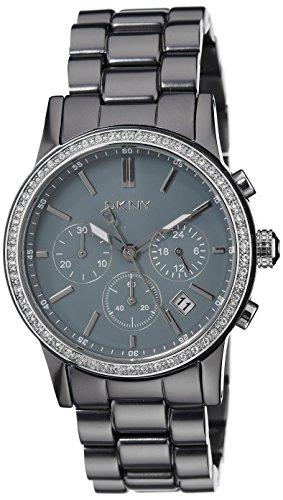 DKNY NY8325 Women's Grey Dial Aluminum Bracelet Chronograph Watch