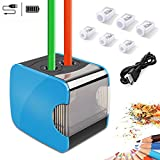 Best Pencil Sharpeners For Classrooms - Oladwolf Electric Pencil Sharpeners, Dual Holes Automatic Pencil Review