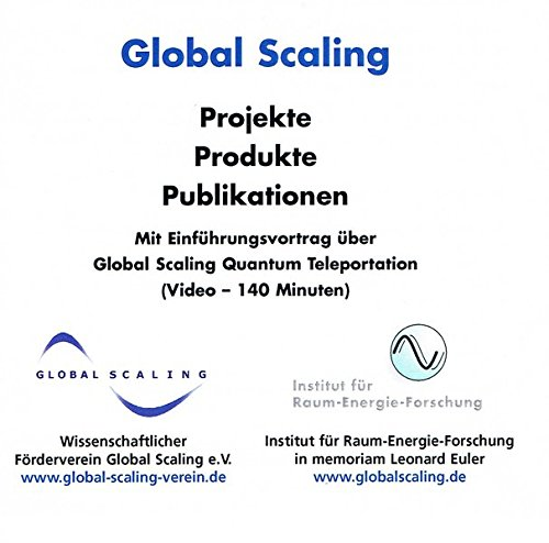 Global Scaling - Projekte - Produkte - Publikationen