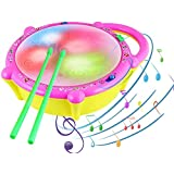 Spanking Flash Drum with 3D Lights and Musical Toys (2 Year)
