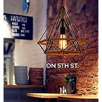 SJUN—Lampadario Di Creativi Sala Da Pranzo Di Country Americano Vintage Corda Industriale Venti Lampadario In (Sostituzione Erba)