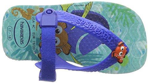 Havaianas Baby Disney Cuties 4137105, Scarpe Primi Passi Unisex – Bimbi 0-24 Multicolore (Ice Blue 0642)