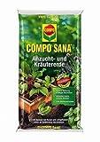 COMPO SANA Anzucht- und Kräutererde 5 l