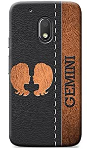 NAINZ Designer Printed Soft Silicone Back Case Cover For Moto G4 Play