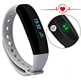 CUBOT V3 Braccialetto intelligente, Tracker di Frequenza Cardiaca Fitness Tracker, Smart...