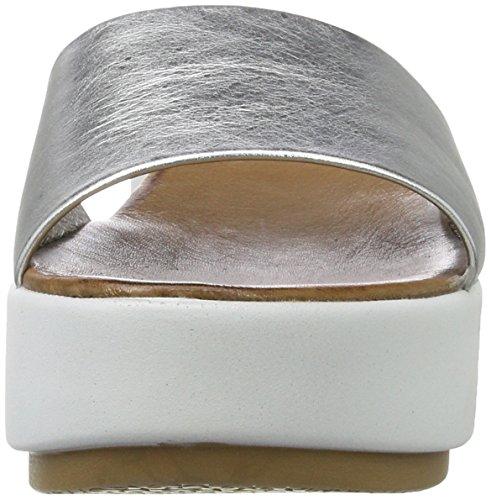 Inuovo Donna Della 7112 Scarpe D'argento Della Le Piattaforma Znq71Z4w