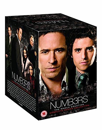 Preisvergleich Produktbild Numb3rs - Numbers - The Complete Series - Season 1-6 in Englisch (Staffeln 1-3 auch in Deutsch) [EU Import]