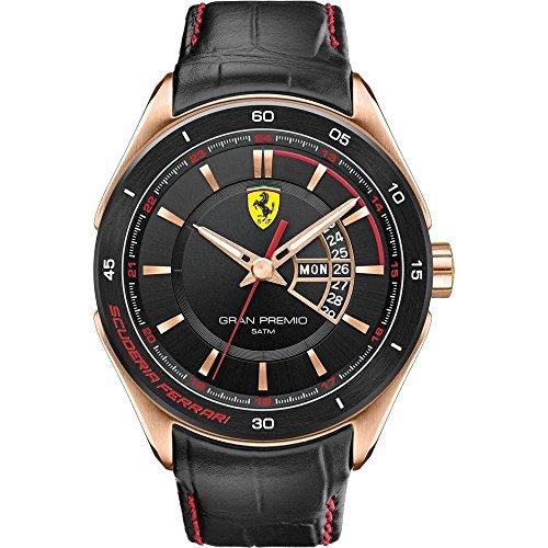 ferrari-herren-armbanduhr-xl-gran-premio-analog-quarz-leder-830185