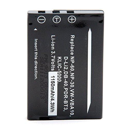 nx-batteria-foto-video-37v-1100mah-np-60-fujifilmklic-5000-kodakklic5000