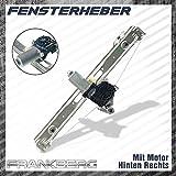 < BMW 3er E46 316 318 320 323 325 328 330 > Fensterheber Mit Motor Hinten Rechts