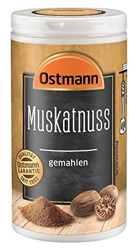 Preisvergleich Produktbild Ostmann Muskatnuss gemahlen 35 g Muskatnuss Gewürz,  Muskatnusspulver,  aromatisches Gewürz für Gemüse & Kartoffeln,  aus der orientalischen Küche,  Menge: 1 Stück
