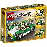 LEGO Creator - Descapotable, juego de construcción, color verde (31056)
