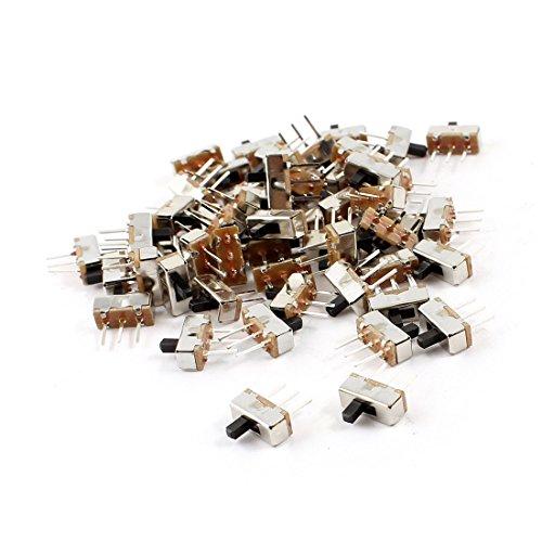 55 Stück PCB (weiblich), 2 Position SPDT Mini Horizontal Schiebeschalter -