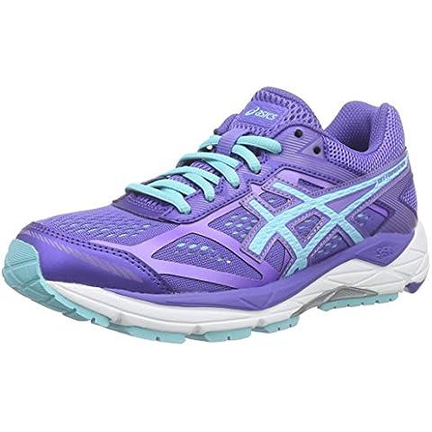 ASICS Gel-foundation 12 - Scarpe Running Donna, Viola (acai/turquoise/iris 3340), 42 EU