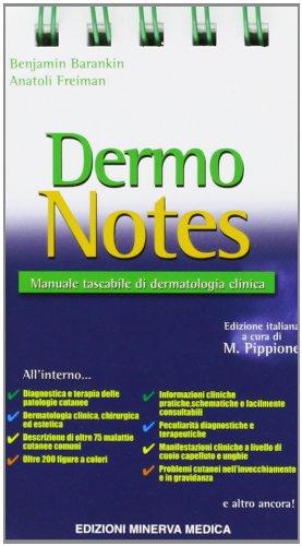 dermo notes. manuale tascabile di dermatologia clinica
