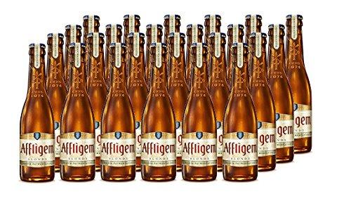 Affligem Dubbel Beer - Box of 24 bottles x 300 ml - Total: 7.20 L