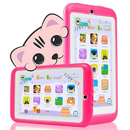 YESTEL Tablet Niños 7 Pulgadas Android 8.1 Tableta