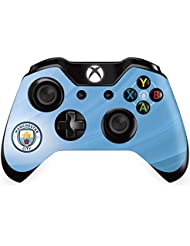 Manchester Man City FC XBox One 1 Sky Blue Controller Pad Skin Etihad Stadium Image Club Crest Fan Gift Official