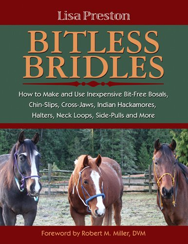 Alpine Slip (Bitless Bridles: How to Make and Use Inexpensive Bit-free Bosals, Chin-slips, Cross-jaws, Indian Hackamores, Halters, Neck Loops, Side-pulls and More)