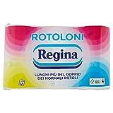 Regina - Carta Igienica Rotoloni - Confezione da 12 Rotoli