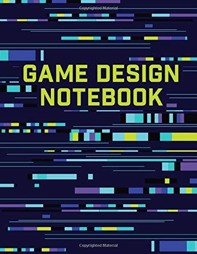 Game Design Notebook: Hexagon   Isometric   Graph Paper   Lined (Sketchbooks for Kids, Band 2) - Design Sketchbook
