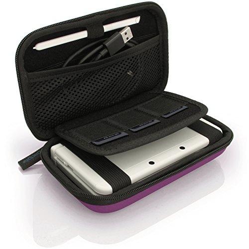 iGadgitz U6334 - Eva Hart Schutzhülle Kompatibel mit Nintendo 3DS (Nicht FÜR 3DS XL) - Lila