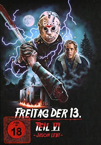 Freitag der 13. Teil 6 - Collectors Edition Mediabook (Cover D) [Blu-ray]