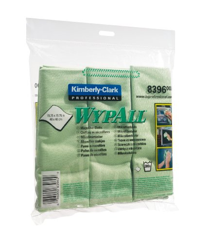 wypall-microfibre-cleaning-cloths-for-dry-or-damp-multisurface-use-green-ref-8396-pack-of-6