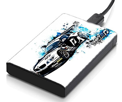 meSleep Race Car Hard Drive Skin  available at amazon for Rs.129
