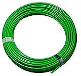Polyamid Druckluft Schlauch PA Pneumatikschlauch, 4mm außen, 50 m Rolle, Farbe: grün