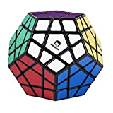 Speed Megaminx nero - cubo magico appropriato a speedcubing - twisty puzzle - tipo Cubikon Cheeky Sheep