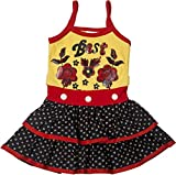 Retaaz Girls' Frock (Rkgf49, Multi-Colou...