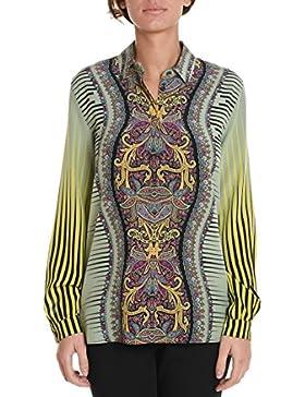 Etro Camicia Donna 184429155500 Seta Verde