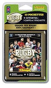 Panini Francia sa 2330–020Rugby 2017–2018–Blister de 10sobres + 1Offerte + 1tarjeta