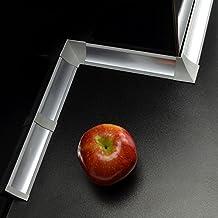 SET accesoires pour joint de plan travail - Couleur: aluminium