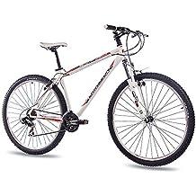 73,66 cm de montaña bicicleta de limpieza CHRISSON 1,0 con 21 G SHIMANO blanco