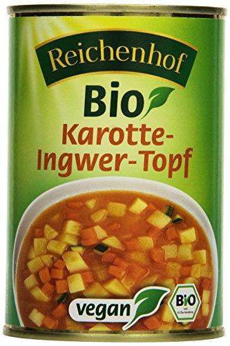 Reichenhof Karotte-Ingwer-Topf vegan, 6er Pack (6 x 400 g)