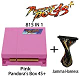 Wisamic Pandora Box 4S+ 815 in 1 Game Joystick Spielkonsole mit Jamma Harness Pink