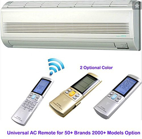 Universal ac remote control for 50+ Brands LG AC Remote - 2000+ Models  Option - HOBBYMATE (Gold Color) by HOBBYMATE