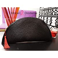 6267592df Bolso abanico mujer para evento bodas fiestas eventos detalle de borla  cartera mano bolso elegante