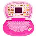 Aquaras Educational Learning Kids Laptop, Led Display, With Music, Assorted Color