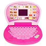 #10: Aquaras Educational Learning Kids Laptop, Led Display, With Music, Assorted Color
