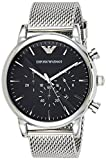 Emporio Armani Men's Chronograph Quartz Watch with Stainless Steel Strap AR1808
