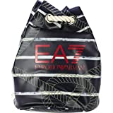 Emporio Armani EA7 Rucksack Damen Tasche Schulrucksack beach allover blu