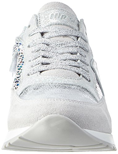 HIP H1819/162/0000/0000, Baskets Basses fille Argent - Silber (90CO)