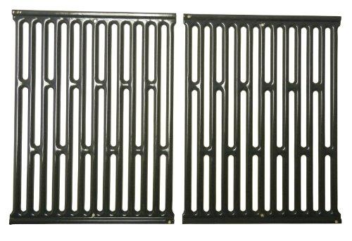 Music City Metals 58682 Grillrostset aus emailliertem Stahl (2-teilig) für Gasgrills der Marke Weber - Grau