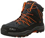 CMP Campagnolo Unisex-Erwachsene Rigel Mid WP Trekking-& Wanderschuhe, Schwarz (Asphalt), 37 EU