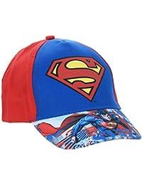 Cap Kinder Jungen Superman Rot und Blau von 3bis 9Jahre