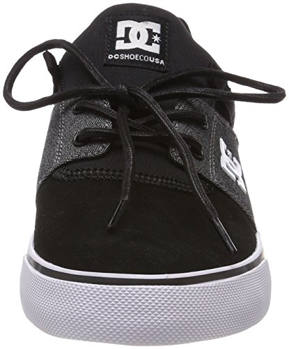 DC Shoes Heathrow Vulc Se, Baskets Homme, Noir Schwarz (Black/Black/Dk Grey Bkd)